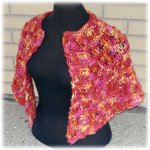 Perfect Hug Shawl Capelet Size
